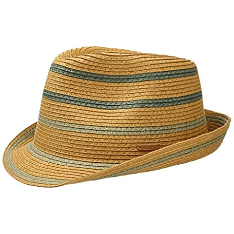 Barts Hats Bardemi Toyo Straw Trilby Hat - Khaki Small/Medium