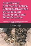 Arthritis und Arthrose bei Katzen - Gelenkbeschwerden behandeln mit Homöopathie und Schüsslersalzen: Ein homöopathischer und naturheilkundlicher Ratgeber für die Katze -