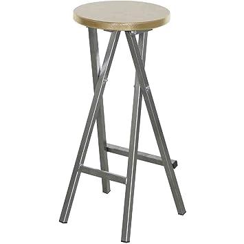 fun star folding bar stool 35 x 82 cm amazoncouk garden u0026 outdoors - Amazon Bar Stools