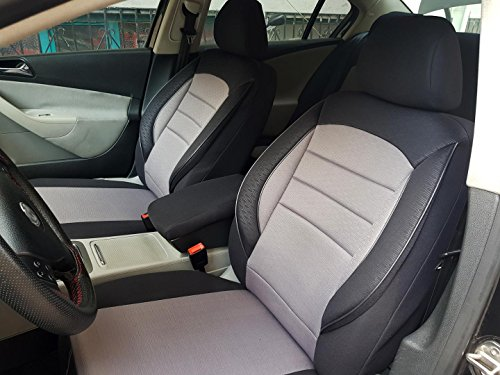 Sitzbezüge k-maniac   Universal schwarz-grau   Autositzbezüge Set Komplett   Autozubehör Innenraum   Auto Zubehör für Frauen und Männer   NO2326776   Kfz Tuning   Sitzbezug   Sitzschoner