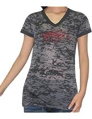 NCAA Arkansas Razorbacks femmes T-Shirt with Rhinestones (Vintage Look)