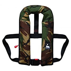 51A6h9UEfsL. SS300  - Harveys Camouflage Automatic Gas 150N Lifejacket