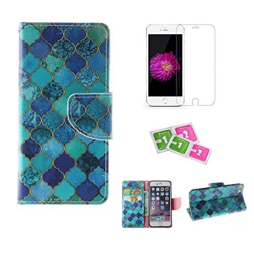 jgntjls-schutzhulle-fur-iphone-6-6s-mit-gratis-gehartetem-glas-displayschutz-hochwertiges-pu-leder-b