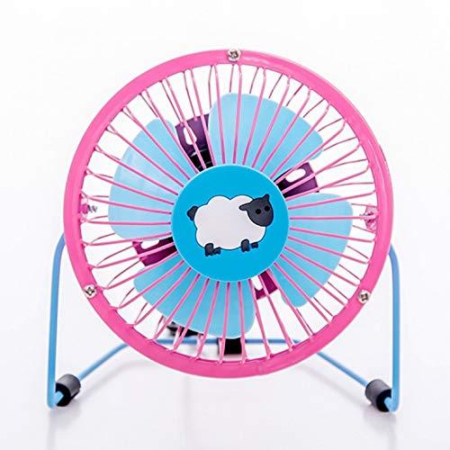 KOMO Mini USB Mute persönlicher Fan, Tischventilator, Home Fan, Bett, Lamm - Lamm-fan