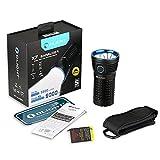 Olight® X7 Marauder 9000 Lumen Taschenlampe mit 3 x Cree XHP70 NW LED - Super hell