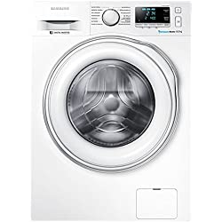 Samsung WW80J6400EW/EG Waschmaschine FL / A+++ / 116 kWh / Jahr / 1400 UpM / 8 kg / Digital Inverter Motor / Super Speed Wash / weiß