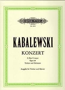 Kabalevsky: Violin Concerto in C Major, Op.48 (Violin & Piano)