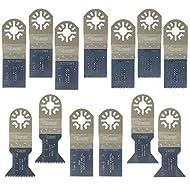 13 x SabreCut PRK13A Mix Klingen für Bosch, Draper Redline, fein MultiMaster, Makita, Milwaukee, Parkside, Ryobi, AEG, Alpha Tools, Batavia, Brico, Craftsmen Nextec, Einhell, Ergotools, Workzone, Hitachi Oscillating Multitool Multi Tool Multifunktionswerkzeug Oszillierwerkzeug Zubehör