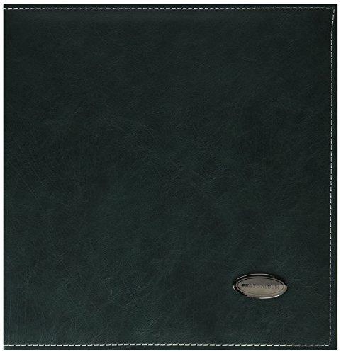 Zoview Selbstklebend Fotoalbum, Familie Album, Leder, Hand Made DIY Alben für 3x 5, 4x 6, 5x 7, 6x 8, 8x 10, Fotos Large Grün (5x7 Leder-album)