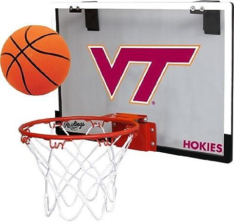 Virginia Tech Hokies Indoor Basketball Hoop Set - Over the Door Game