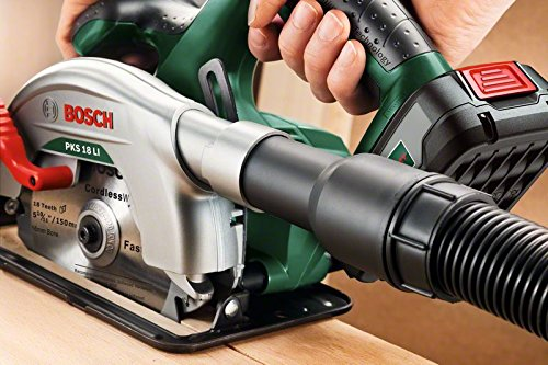 Bosch 18V Akku Kreissäge PKS 18 LI ohne Akku, Sägeblatt, Parallelanschlag, Karton (18 Volt System) - 3