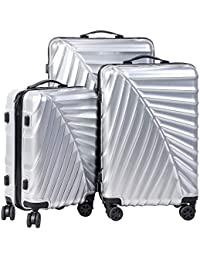 CARRY TRIP Hard-Sided Luggage Set Of 3 Trolley/Travel/Tourist Bags (55, 65 & 75 Cm)