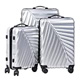 CARRY TRIP Hard-Sided Luggage Set of 3 Trolley/Travel/Tourist Bags