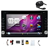 "EINCAR Pupug GPS Navigator 6.2"" HD Digital Touch Screen Double 2 Din Head"