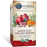 Garden of Life - mykind Produkt-organischer Betriebskollagen-Erbauer - 60 Vegan Tabletten
