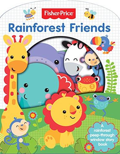 Preisvergleich Produktbild Fisher Price Rainforest Friends - Cut Through (Cut Through Board Book)