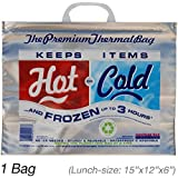 Insulated Bag   Thermal Bag   Hot Cold Bag (1 Lunch Bag) By American Bag Company