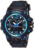 Skmei Analog-Digital Blue Dial Men's Watch - 1155BBBL