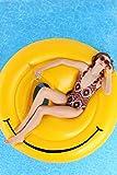 Gigante Emoji Emoticon sorriso Galleggiante per Mare e Piscina. Bambini e adulti piscina gigante gonfiabile Emoji Emoticon sorriso. Gonfiabile piscina giocattolo sorriso di Integrity Co