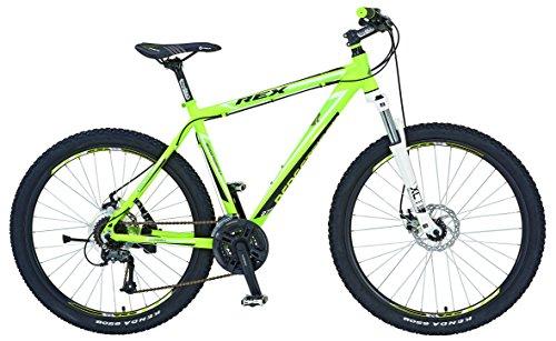REXBike Jungen Mountainbike REX Alu-MTB 27.5 Zoll 650B Bergsteiger 6.4, lemon matt, 50, 51586-3111