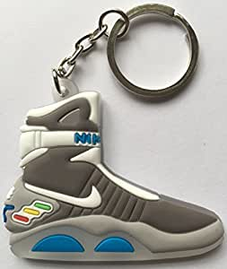 Back to the Future Keyring 2D Nike Air Mag Keychain Glow In The Dark NEW by Other
