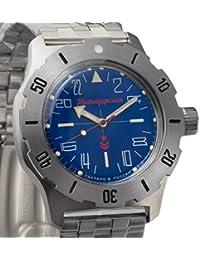 Vostok ruso mecánico K-35# 350642KOMANDIRSKIE 24horas reloj de pulsera 2431.01