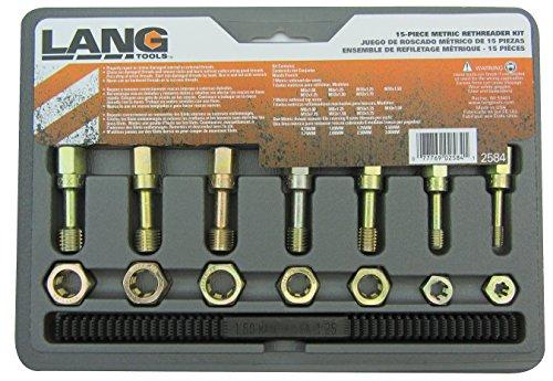 Lang Tools 258415tlg Metrisches Gewinde Restorer Set