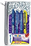 Pilot 2260BE4 Frixion (1 FriXion Ball, 1 FriXion Point, 1 FriXion Clicker, 1 FriXion Light Textmarker), 4-er Set