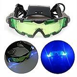 Gearmax Gafas de Visión Nocturna con Azul Flip-fuera Llevaron Luces