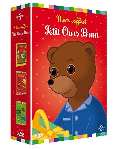 Petit Ours Brun - Coffret: Petit Ours Brun veut s'habiller tout seul, Petit Ours Brun jardine, Le Noël de Petit Ours Brun