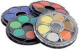 361803 - Aquarellset mit 24 Farben, 4 Etagen - 24 Näpfe, sehr gute Qualität!...