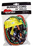 Taylor Tools TAY-62024 - 60 Cm / 24 Pulgadas Para Trabajo Pesado Bungee Cord (Paquete De 5)