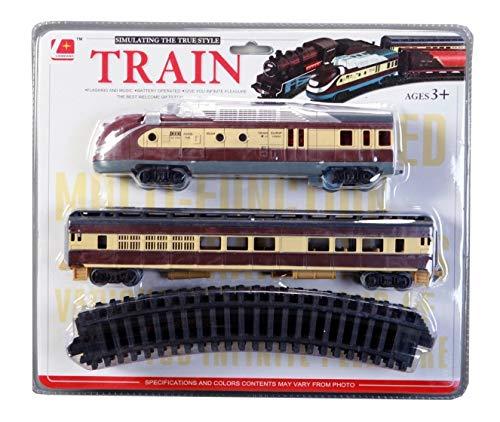 Eisenbahn Set, Zug Set mit Licht und Sound. (Batterie), Art. Nr. 8379 - Set Zug Art