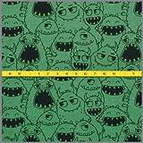 Jersey Monster Parade * grün * Kinderstoff * Trikot *