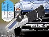 Refraktometer Frostschutz Scheibenwasser Batteriesäure AdBlue KfZ Glykol PKW IN-978 genaue Messung von Frostschutzmitteln im KFZ & oder für Solaranlagen