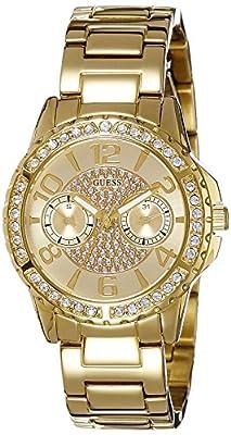 Guess W0705L2 - Reloj de lujo para mujer, color dorado de Guess