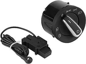 Auto Scheinwerferschalter Sensor Keenso Kfz Scheinwerferschaltkontroll Sensormodul Für Golf Mk5 Mk6 Passat Caddy Kaninchen Tiguan Touran B6 3c 5nd941431b Auto