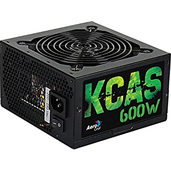 Aerocool KCAS600S - PC Gaming Netzteil, 600W, ATX, 12V