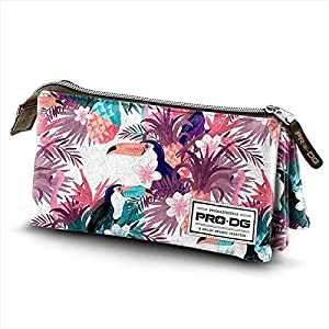 PRODG Tropic Estuches, 24 cm, Multicolor (Multicolored)
