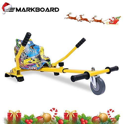 MARKBOARD Hoverkart Sitzscooter Gokart, Hovergokart, Hovercart, Sitz für Self Balancing Scooter, Kompatibel mit 6,5zoll 8,5zoll und 10 Zoll Scooter