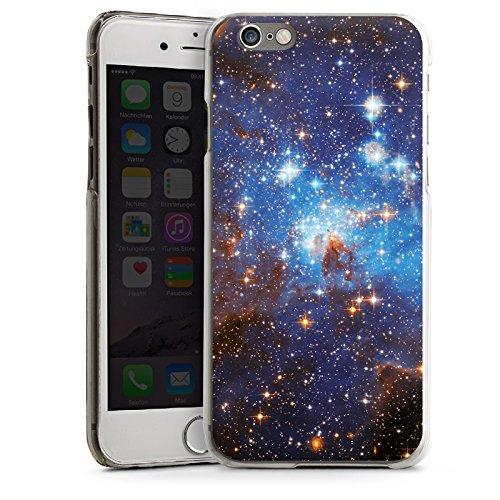 Apple iPhone 5 Housse étui coque protection Espace Galaxie Nuages de Magellan CasDur transparent