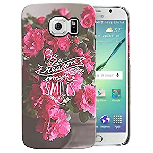 Theskinmantra Be the Reason back cover for samsung Galaxy S6