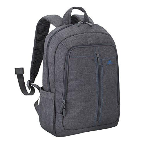 """RivaCase 7560 Laptop Backpack 15.6"""", Zaino per Laptop Fino a 15.6"""", Grigio"""