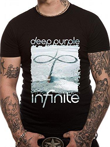 Deep Purple Infinite Camiseta Negro XXL