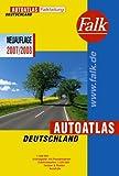Falk Autoatlas Falkfaltung Deutschland 2007/2008: 1:500000 mit Postleitzahlen (Falk Atlanten)
