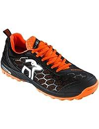 Kookaburra , Chaussures spécial hockey sur gazon pour garçon noir noir/orange Taille Unique