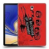 Head Case Designs Offizielle 5 Seconds of Summer Raumanzug Rot Gruppenbild Derp Ruckseite Hülle für Samsung Galaxy Tab S4 10.5 (2018)