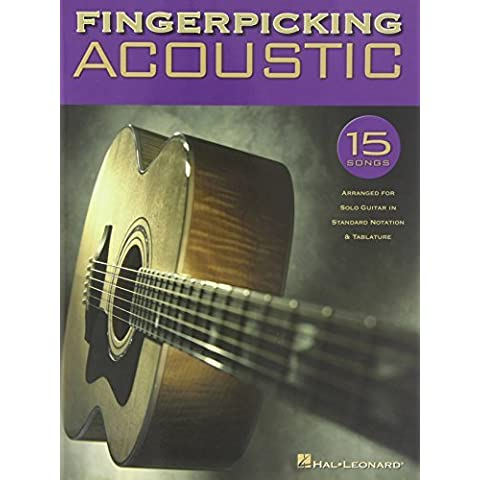 Fingerpicking Acoustic: 15 Songs Arranged for Solo Guitar in Standard Notation & Tab by Hal Leonard Corp. (2003-10-01) - Acoustic Solo Tabs