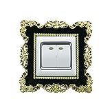 Gespout Wall Sticker Schalter Aufkleber Lichtschalter Aufkleber Raum-Dekor Wandtattoo Aufkleber Leuchtaufkleber für Steckdose Lichtschalter Dekor