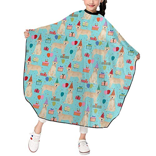 Dackel Schwein Kostüm - Blue and Yellow Labrador Dog Christmas Shoes Barber Hairdresser Stylist Haircut Salon Hair Stylist Hairdresser Haircut Cutting Kid Children Decor Decorations Ornament Printed Theme
